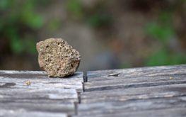 Hólyagüreges, salakos bazalt a Halom-hegyen