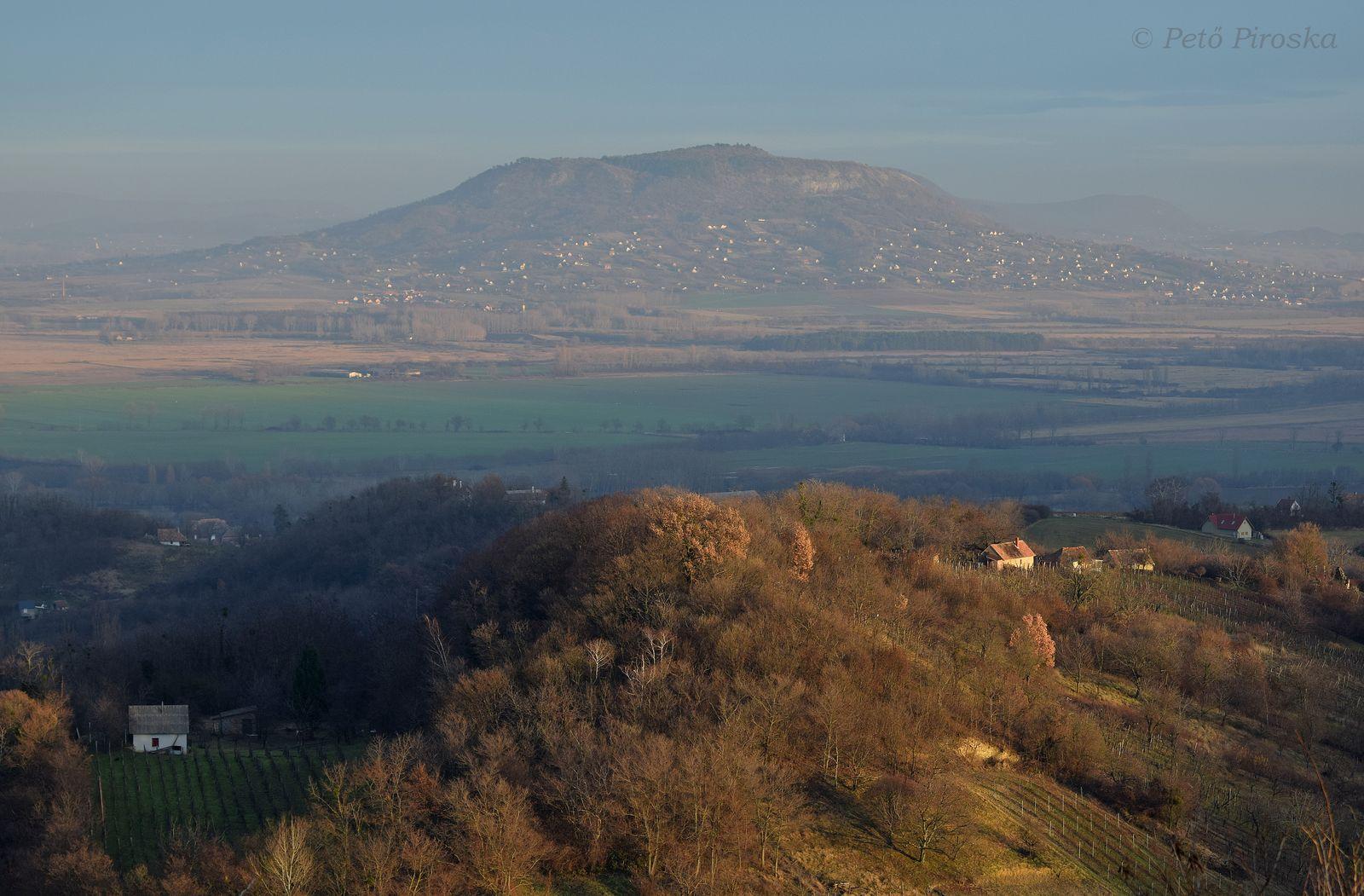 Látkép Lesencéről