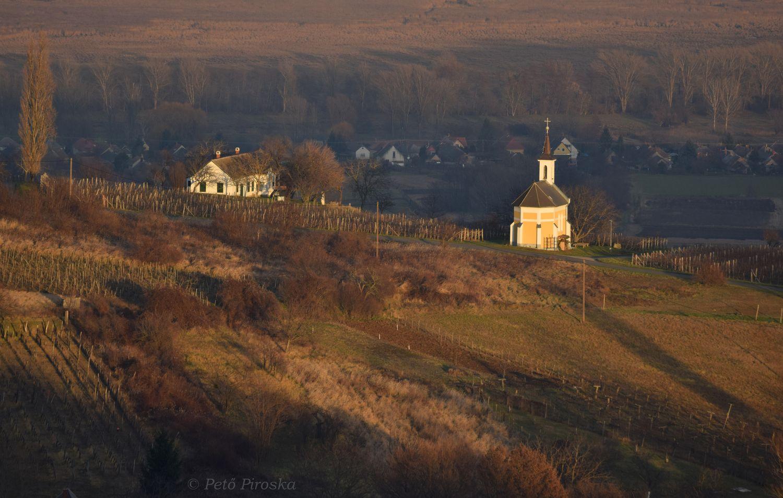 Mária-kápolna, felülről