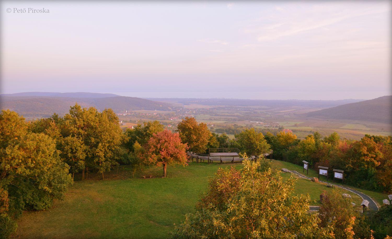 A Halom-hegyi kilátás mindenkit rabul ejt